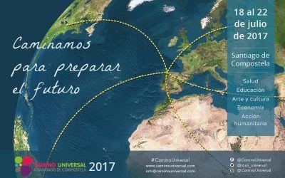 El Camino Universal a Santiago de Compostela 2017, está en marcha