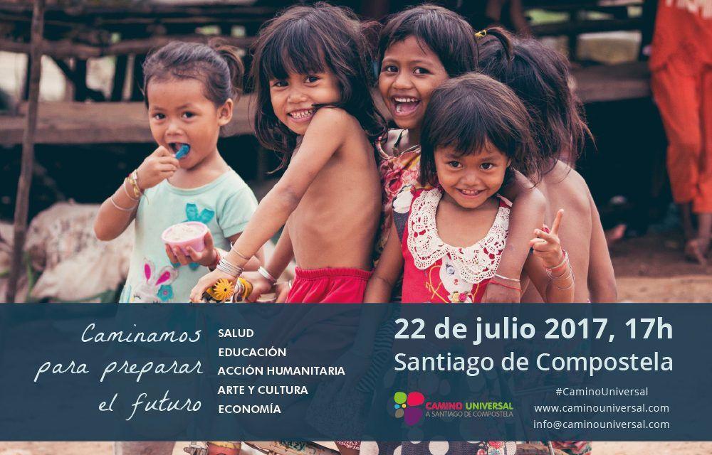 """""""Caminamos para preparar el futuro"""" 22 julio, Cidade da Cultura, Compostela"""