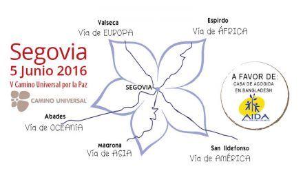 V Camino Universal por la Paz en Segovia. 5 junio 2016